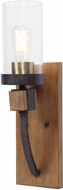 Uttermost 22523 Atwood Contemporary Deep Weathered Bronze Wall Lighting