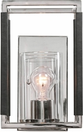 Uttermost 22527 Newburgh Modern Polished Nickel Wall Sconce