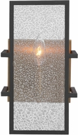 Uttermost 22540 Holmes Modern Black and Antique Brass Wall Sconce