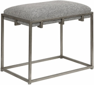 Uttermost 23471 Edie Silver Small Bench