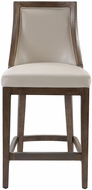 Uttermost 23501 Purcell Cappuccino Leather Counter Stool