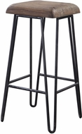 Uttermost 24870 Albie Contemporary Natural Industrial Bar Stool