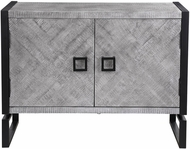 Uttermost 24990 Keyes Contemporary Gray and Black Cabinet
