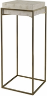 Uttermost 25113 Inda Contemporary Brushed Brass Plant Stand