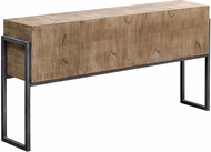 Uttermost 25402 Nevis Contemporary Hand Applied Light Oatmeal Nevis Contemporary Sofa Table