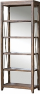 Uttermost 25434 Delancey Deeply Grained Weathered Oak Etagere