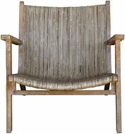 Uttermost 25490 Aegea Country Woven Rattan Accent Chair