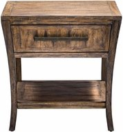 Uttermost 25890 Marielle Wood End Table