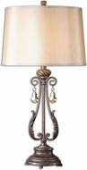 Uttermost 26145 Cassia Oil Rubbed Bronze 35 Tall Table Top Lamp
