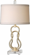 Uttermost 26169 Adelais Curved Metal 17 Wide Lighting Table Lamp