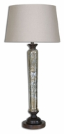 Uttermost 26213 Cassini Mercury Glass 16  Wide Buffet Buffet Table Lamp