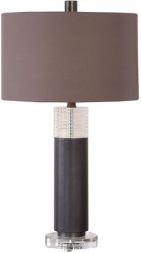 Uttermost 26225-1 Ryne Plated Oxidized Bronze Table Lighting