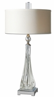 Uttermost 26294-1 Grancona 31 Inch Tall Twisted Glass Bedroom Lamp