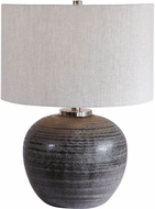 Uttermost 26349-1 Mikkel Charcoal Table Light