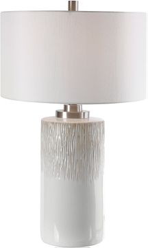 Uttermost 26354-1 Georgios Cylinder Table Lamp