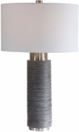 Uttermost 26357 Strathmore Stone Gray Table Lamp