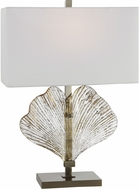 Uttermost 26363-1 Anara Glass Leaf Side Table Lamp