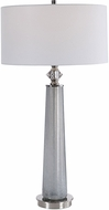 Uttermost 26378 Grayton Frosted Art Table Lamp Lighting