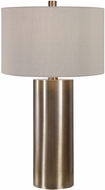 Uttermost 26384-1 Taria Brushed Brass Table Lighting