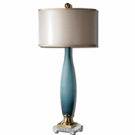 Uttermost 26582-1 Alaia 17 Wide Side Table Lamp