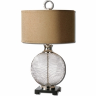 Uttermost 26589-1 Catalan 11 Wide Table Top Lamp