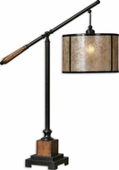 Uttermost 26760-1 Sitka Polished Nickel Table Lamp Lighting