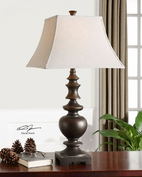 Uttermost 26830 Verrone Traditional Table Lamp