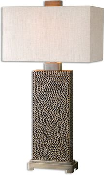Uttermost 26938-1 Canfield Coffee Bronze Table Lamp