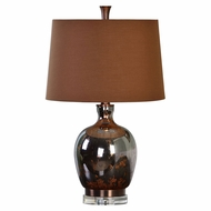 Uttermost 27141 Lilas Metallic Rust Bronze Table Lamp