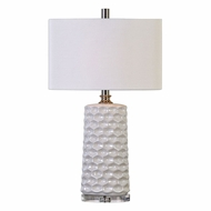 Uttermost 27142-1 Sesia Polished Nickel Table Light