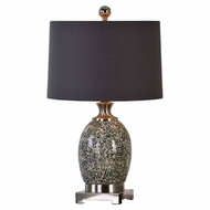 Uttermost 27161-1 Madon Taupe Gray Lighting Table Lamp
