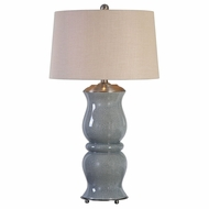 Uttermost 27162 Cannobino Pale Blue Table Lamp Lighting