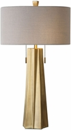 Uttermost 27548 Maris Contemporary Plated Antiqued Brass Table Lamp