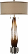 Uttermost 27706 Garonne Amber & Ivory Table Lamp