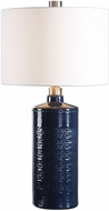 Uttermost 27716-1 Thalia Royal Blue Side Table Lamp