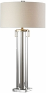 Uttermost 27731 Monette Modern Tall Cylinder Buffet Lighting Table Lamp