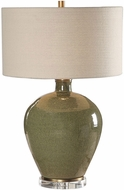 Uttermost 27759 Elva Emerald Table Lamp