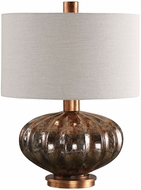 Uttermost 27780-1 Dragley Bronze Mercury Glass Lighting Table Lamp