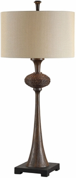 Uttermost 27798 Collbran Woven Rattan Buffet Table Light