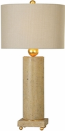 Uttermost 27799-1 Krisel Metallic Gold Leaf Table Lighting
