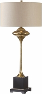 Uttermost 27809 Christiani Antiqued Metallic Golden Champagne Table Light