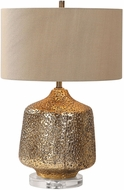 Uttermost 27810-1 Galaxia Metallic Gold Table Light