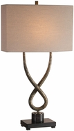 Uttermost 27811-1 Talema Aged Silver Table Lighting