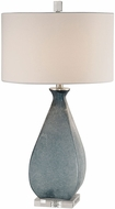 Uttermost 27823 Atlantica Ocean Blue Lighting Table Lamp