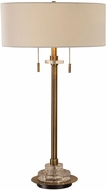 Uttermost 27832-1 Harlyn Antique Brass Table Lamp