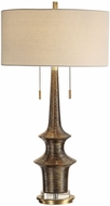 Uttermost 27845 Galatea Antique Gold Table Lamp Lighting