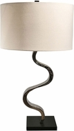 Uttermost 27858-1 Fialla Nickel Side Table Lamp