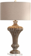 Uttermost 27863 Treneece Aged Pecan Table Lighting