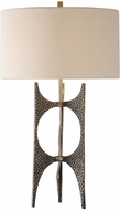 Uttermost 27864 Goldia Antique Bronze Lighting Table Lamp