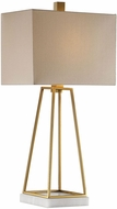 Uttermost 27876-1 Mackean Metallic Gold Table Top Lamp